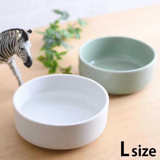 Aukatz オーカッツ ヘルスウォーター ボウル L  猫 ウォーターボウル 水飲み 食器 犬 ペット まろやか 給水 皿 器