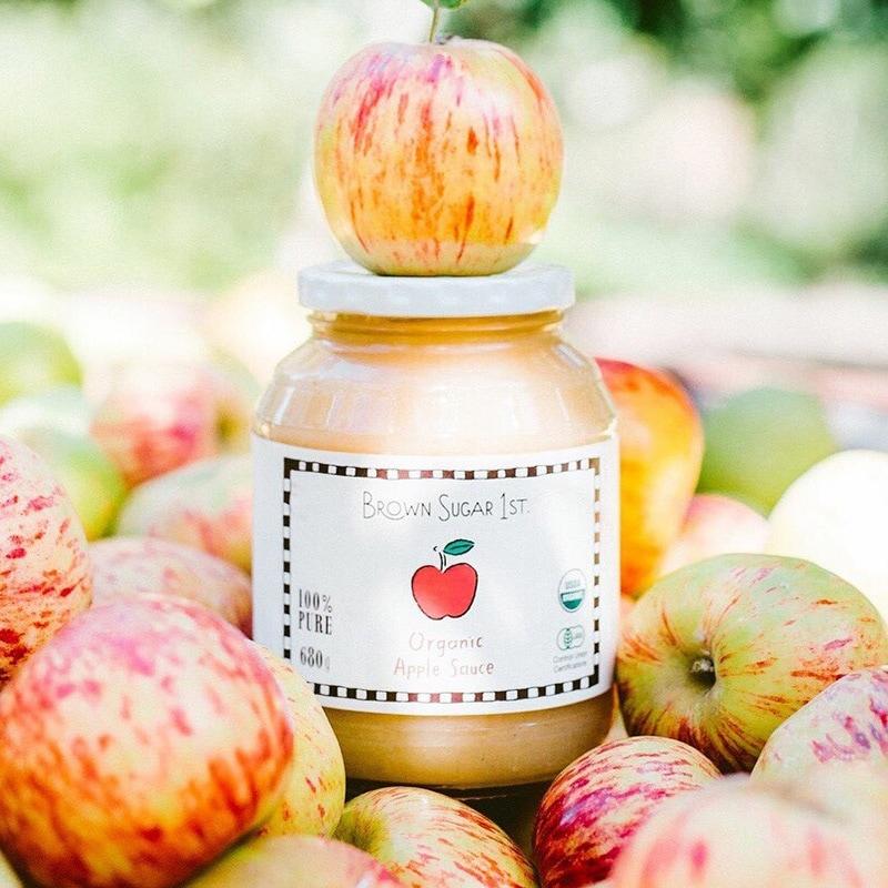 有機アップルソース 瓶タイプ