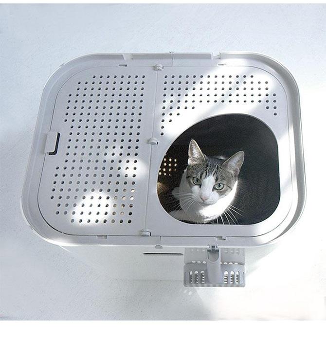 modkat モデキャット XL Litter Box モデキャットXLリターボックス  猫用トイレ 大きめ modkat モデキャット modko モデコ おしゃれ シンプル