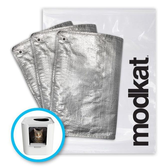 modkat モデキャットXL 交換用インナー砂袋 上と前から入るタイプ モデキャットXL FRリューザブルライナー(3枚入)  猫用トイレ modkat モデキャット modko モデコ 交換用インナー砂袋 洗える