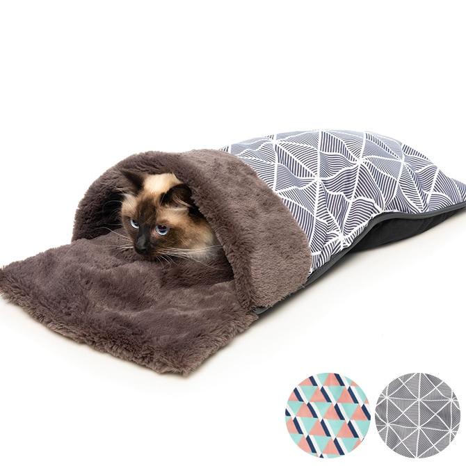 FuzzYard ファズヤード 犬猫用ベッド Coccon スリープコクーン  猫用 犬用 ペット ベッド 布団 暖かい 冬 オールシーズン 小型犬