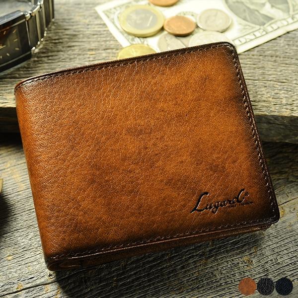二つ折り財布 小銭入れあり Lugard G-3