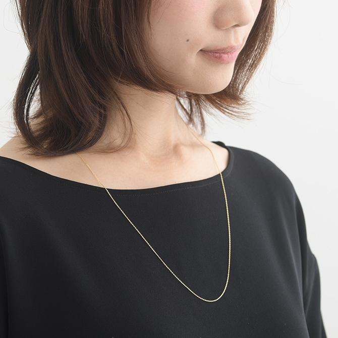 K18 ネックレス chain60