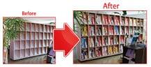 ウモガ ブログ 2階事務所 お客様 ご来店スペース 改装中
