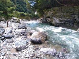 ウモガ ブログ 高知県 川