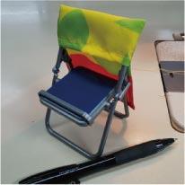 ウモガ ブログ サンプル 椅子カバー