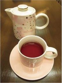 ウモガ ブログ Cafe gallery 銀色 はちみつ紅茶