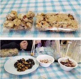 ウモガ ブログ タコ飯 サザエの肝の生姜醤油煮