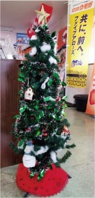umoga ブログ クリスマスツリー
