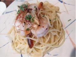 ウモガ ブログ Chef's Table Piatto パスタ ペペロンチーノ