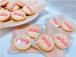 ウモガ ブログ アンパンマン てづくり クッキー
