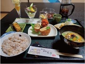 ウモガ ブログ 善通寺 徳善寺 cafe縁処 薬膳料理