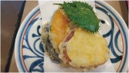 ウモガ ブログ 瀬戸晴れ 天ぷら 野菜 揚げたて