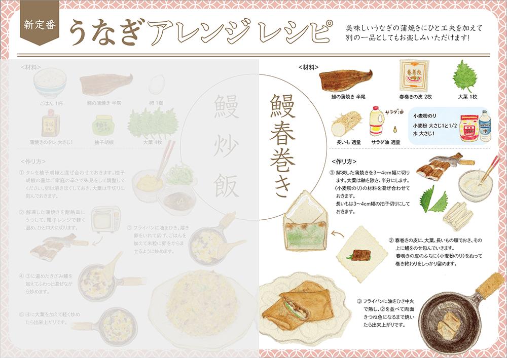 鰻春巻き(うなぎはるまき)のレシピ