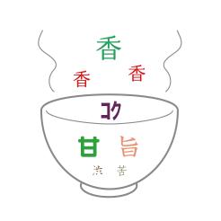 茶・銀座 抹茶 味のイメージ