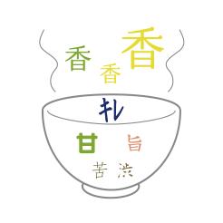 新茶 にゅう 味のイメージ