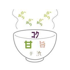 新茶 しゃん 味のイメージ