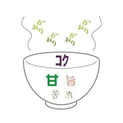 新茶 うぬぼれ 味のイメージ