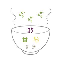 八女茶 茶ぽん 味のイメージ