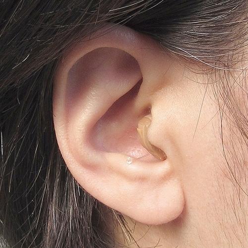 ニコン・エシロール 耳穴型デジタル補聴器(音量リモコン付き)