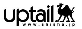 シーシャ販売店UPTAIL HOOKAH