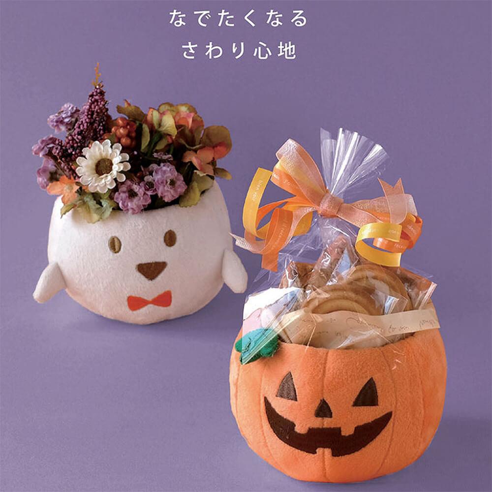 ハロウィン飾り HWふわふわポット(3種)