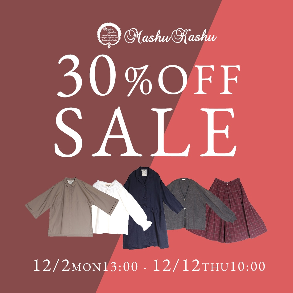 jolie-clothes Mashu Kashu 30%OFFSALE