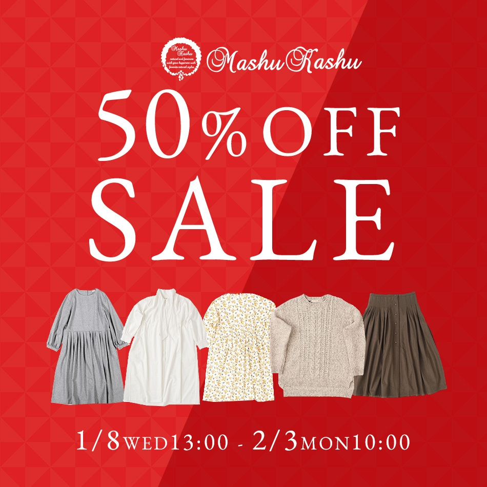 jolie-clothes Mashu Kashu 50%OFFSALE