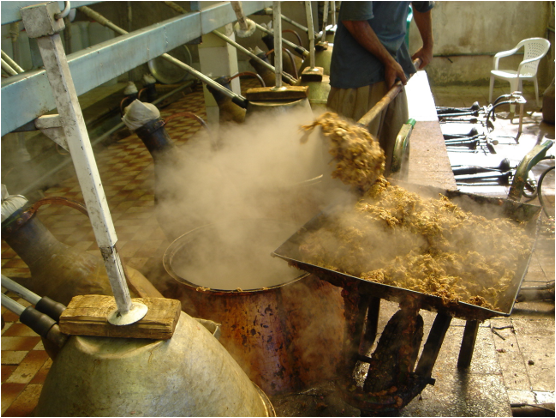 伝統的なイランの蒸留