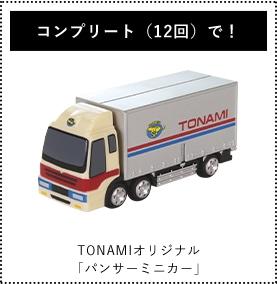 TONAMIオリジナル「パンサーミニカー」