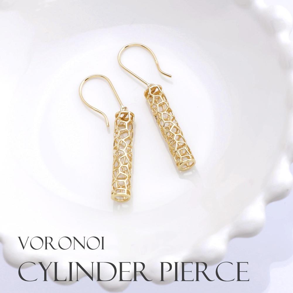 VORONOI CYLINDER necklace