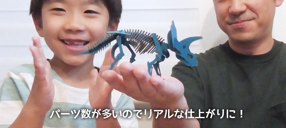 ダンボール恐竜工作キット