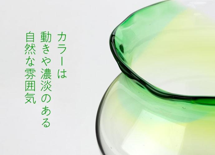 滋賀の吹きガラス工芸品