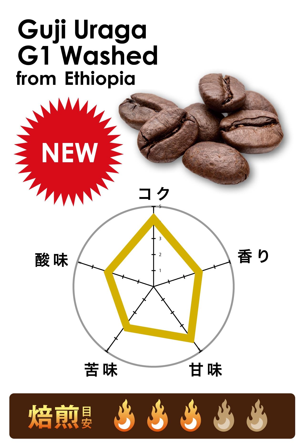 グジ ウラガ G1 ウォッシュド|エチオピア