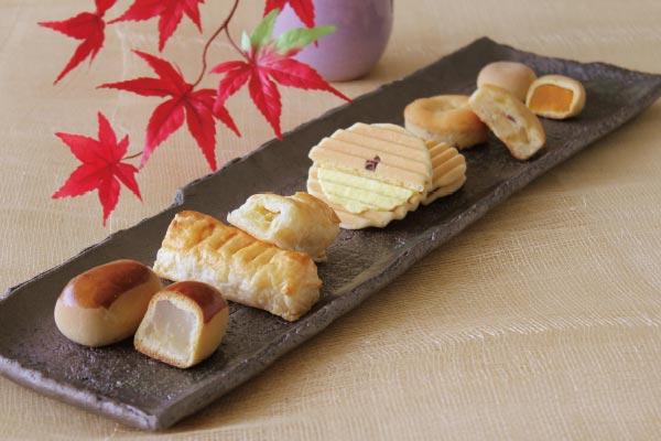 旬菓のにぎわい(秋)