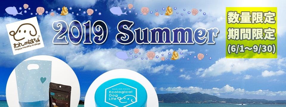 2019 Summer 限定商品