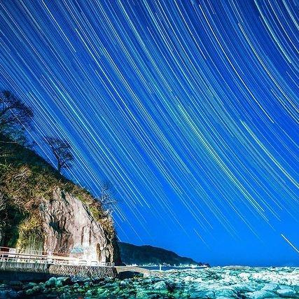 「鴨ヶ浦からの星空」
