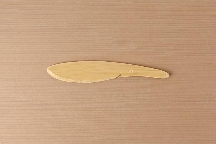 竹製ナイフ