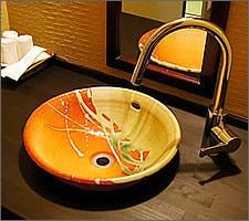 洗面ボウルの設置例16