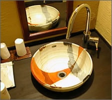 洗面ボウルの設置例18