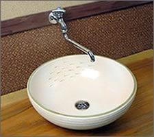 洗面ボウルの設置例27