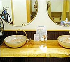 洗面ボウルの設置例7