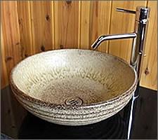 洗面ボウルの設置例37