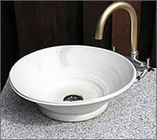 洗面ボウルの設置例39
