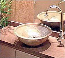 洗面ボウルの設置例41