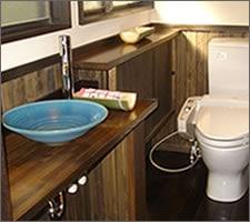 洗面ボウルの設置例44