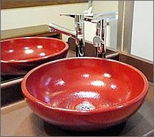 洗面ボウルの設置例47
