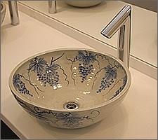 洗面ボウルの設置例49