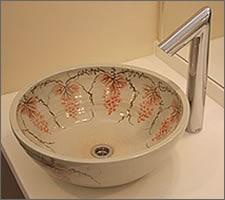 洗面ボウルの設置例50