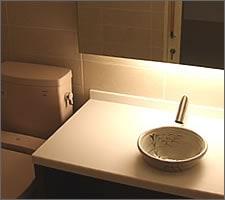 洗面ボウルの設置例53